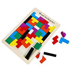 Обучающая игрушка Квадратная Высокое качество Игры и пазлы Мальчики / Девочки Дерево