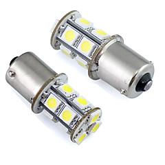 1156 ba15s p21wは、パーキングライト12Vの直流(2個)/テール/ブレーキ/ターンのために車の電球13 SMD 5050を率い