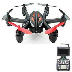 Dron WL Hračky Q282G 4Kanály 6 Osy 5.8G S kamerou RC kvadrikoptéraFPV / LED Osvětlení / Jedno Tlačítko Pro Návrat / Headless Režim / 360