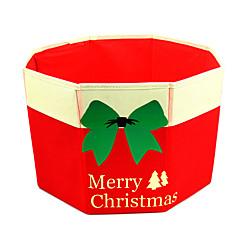 크리스마스 장식 크리스마스 파티 제품 홀리데이 용품 1Pcs 크리스마스 텍스타일 실버