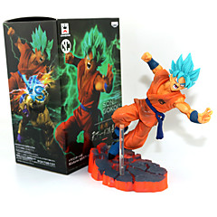 Dragon Ball Son Goku PVC 14CM Anime Akcijske figure Model Igračke Doll igračkama
