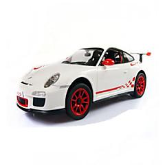Auto Rennen 1:14 Bürstenloser Elektromotor RC Car 50km/h 2.4G Weiß Fertig zum MitnehmenFerngesteuertes Auto Fernsteuerung/Sender USB -