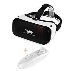 Lett design 3D virtuell virkelighet VR briller for 3/5 til 5/5 tommers smarttelefon med gamepad
