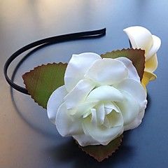 Women's Chiffon Plastic Headpiece-Wedding Special Occasion Headbands Flowers 1 Piece