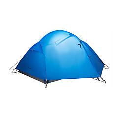 MOBI GARDEN® 2 사람 텐트 더블 베이스 자동 텐트 원 룸 캠핑 텐트 옥스퍼드 방수 호흡 능력 자외선 저항력 바람 방지 따뜻함 유지 폴더 휴대용 울트라 라이트 (UL)-하이킹 캠핑 여행 야외