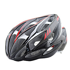 FTIIER New Listing LED Warning Light  Built-In Keel Skeleton  Insect Net Bicycle Helmet Cycling Helmet Integrated Molding Mountain Bike Helmet