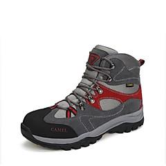 CAMEL נעלי טיולי הרים נעלי הרים לגברים נגד החלקה Anti-Shake חסין בפני שחיקה נושם ניתן ללבישה טבע סוליה גבוהה זמש PU צעידה