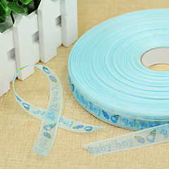 Letter Others Organza Wedding Ribbons-1 Piece/Set Grosgrain Ribbon Weaving Ribbon