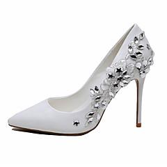 Γυναικεία παπούτσια-Τακούνια-Γάμος Πάρτι & Βραδινή Έξοδος-Τακούνι Στιλέτο-Παπούτσια & Ασορτί Τσάντες-PU-Άσπρο
