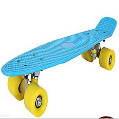 Kinder Standard-Skateboards Gelb Blau Waldgrün Rot/Weiß