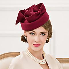 成人用 ウール かぶと-結婚式 パーティー カジュアル ヘッドドレス ハット 1個
