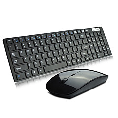 VMT-02 Ultrathin mini wireless keyboard and mouse for ipad or smart tv
