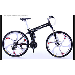 Mountain Bike Folding bicikle Biciklizam 24 Brzina 26 inča/700CC Shimano Disk kočnica Suspension ForkOkvir od aluminijske legure