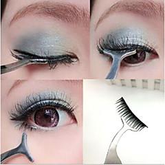 1Pc New False Eyelashes Curler Extension Lash Mascara Applicator Remover Steel Tweezers Clip Para Makeup Tool Hot Gift