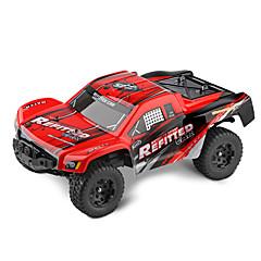 WL Toys A313 Truggy 1:12 Bürster Elektromotor RC Auto 35 2.4G Fertig zum MitnehmenFerngesteuertes Auto Fernsteuerung/Sender USB Kabel