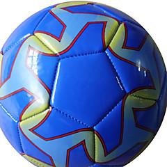 Football(Jaune Rouge Bleu,Polyuréthane)Haute élasticité Durable