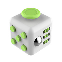 Spielzeuge Glatte Geschwindigkeits-Würfel Fidget Cube Neuartige Lindert Stress Magische Würfel Cyan Grün / Plastik