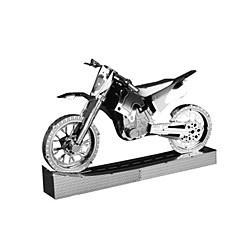 3D palapeli Metalliset palapelit Gift Rakennuspalikat Rakennuslelu Moottoripyöräily Metalli 14 vuotta ja enemmän Vaaleanpunainen Lelut