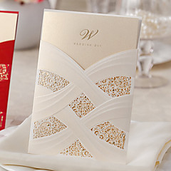 Wrap & Pocket Wedding Invitations 20 Card Paper