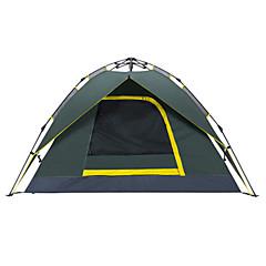 Makino 3-4 Pessoas Tenda Triplo Barraca de acampamento 2000-3000 mm Oxford Prova de Água Respirabilidade Secagem Rápida-Equitação