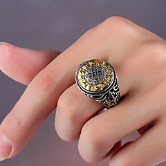 Ring Daily Casual Jewelry Silver Ring 1pc One Size