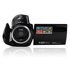 Other פלסטיק מצלמה פונקציה רבת 720P LCD tiltable שחור 2.7