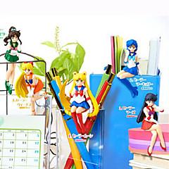 アニメのアクションフィギュア に触発さ 美少女戦士セーラームーン Sailor Moon ポリ塩化ビニル 6 cm モデルのおもちゃ 人形玩具