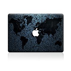 1 stk Motstår Risser Kart Gjennomsiktig plast Klistremerke Mønster TilMacBook Pro 15'' med Retina MacBook Pro 15 '' MacBook Pro 13'' med
