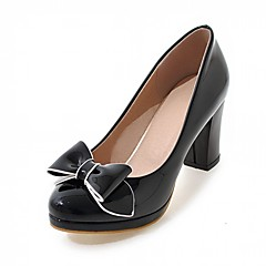 Women's Heels Spring Summer Fall Winter Comfort Novelty PU Leatherette Wedding Office & Career Party & Evening Dress Casual Chunky Heel