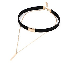 Necklace Europe Collar Fashion Short Black Necklace Choker Necklace