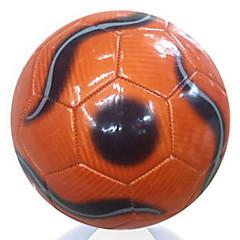 Football(Rouge Gris Orange,Cuir)Haute élasticité Durable