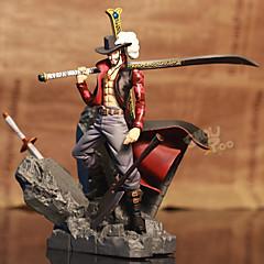 Anime Action Figurer Inspirert av One Piece Dracula Mihawk PVC 15 CM Modell Leker Dukke