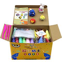 Odstraňuje stres Sada na domácí tvoření Vzdělávací hračka Barevný sliz Hrajte těsto, plastin a tmel Novinka Udělej si sám Papír