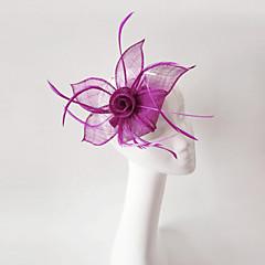 Γυναικείο Φτερό Λινάρι Headpiece-Γάμος Ειδική Περίσταση Διακοσμητικά Κεφαλής 1 Τεμάχιο