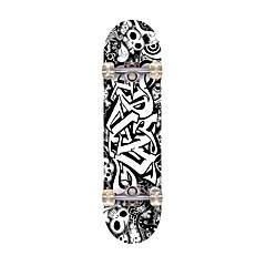 Standardi Skateboards Ammattilaisten ABEC-7-Musta Lippukuvio