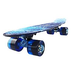 22 tuumaa Cruisers Skateboard Ammattilaisten PP (polypropeeni) Sininen
