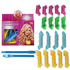 18 Pcs Set Nine Big Nine Little Volume Hair Tools Article Hair Volume Bang Magic Diy Curl Tool Changed Curl Curl Artifact