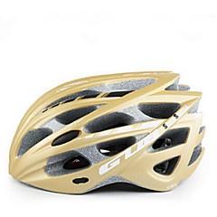 Sportovní Unisex Jezdit na kole Helma 30 Větrací otvory Cyklistika Cyklistika PC EPS Bílá Šedá Modrá Zlatá Světle zelená Oranžová