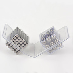 Magnetiske leker 63 Deler MM Stress relievers Magnetiske leker Administrative Leker Kubisk Puslespill som Gave