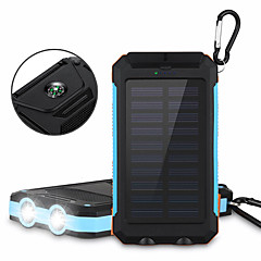 6000mAhBank-externer Batterie Solarlade Multi – Ausgabe Taschenlampe 6000 2000 Solarlade Multi – Ausgabe Taschenlampe