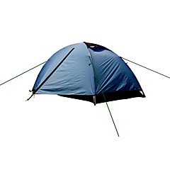 Alpika Outdoor 2 Person Double Layer Ultra Light Camping Tent 2人 テント ダブル テント 1つのルーム キャンプテント >3000mm ナイロン アルミ防湿 防水 通気性 抗紫外線 速乾性 防雨 防塵 抗虫
