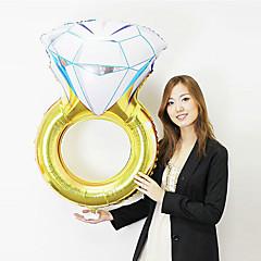 風船 ホリデー用品 1 誕生日 バレンタイン・デー マスカレード アルミニウム