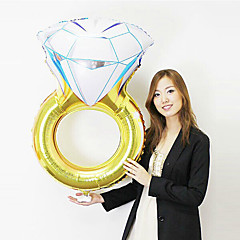Ballons Urlaubszubehör 1 Geburtstag Valentinstag Maskerade Aluminium