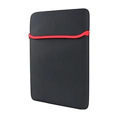 tablet pc forro geral pacote sbr bolsa de computador material de mergulho de 17 polegadas unisex preto simples