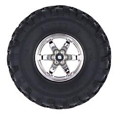 Általános RC Tire Gumi RC Autók / Buggy / teherautók Fekete Gumi Műanyag