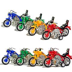 Spielzeugautos zum Aufziehen Aufziehbare Spielsachen Motorräder Spielzeuge Motorrad Kinder Unisex Stücke