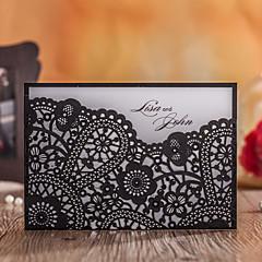 Personalizado Embrulhado e de Bolso Convites de casamentoCartões de Obrigado Cartões de resposta Amostra de convite Cartões de