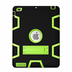 Para Antichoque Com Suporte Rotação 360° Capinha Corpo Inteiro Capinha Padrão Geométrico Rígida PC para Apple iPad 4/3/2