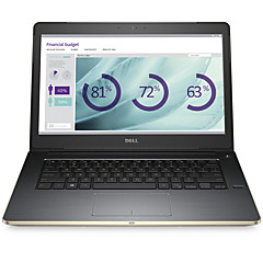 DELL Bærbar 14 tommer Intel i7 Dual Core 4GB RAM 1TB harddisk Windows 10 GT930M 4GB