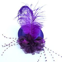 נוצה רשת כיסוי ראש-חתונה אירוע מיוחד קישוטי שיער פרחים כובעים Birdcage Veils זרי פרחים חלק 1